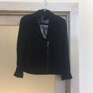 Jackets & Blazers - Ponte knit Moto jacket